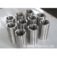 Quality ASME SB338 Grade 7 Seamless Round Titanium Pipe Welding for Condensers / Heat Exchangers wholesale