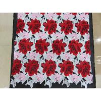 China Heavy Three Color Embroidered Crochet Lace Fabric / Dressmaking Fabric on sale
