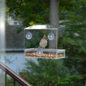 Cheap Wholesale 2016 Custom Hanging Bird Water Feeder,Grateful Gnome Window Brid for sale