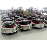 Quality Whosesale factory price crane parts forged railway wheel with shaft wholesale