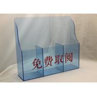 Quality Hotel / Restaurant Acrylic Menu  Holder Display Stand For Menu Card wholesale
