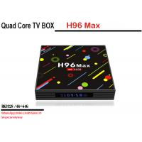 China Wholesale factory price android 7.1 smart tv box H96 MAX H2 RK3328 4 core 4G 64G Dual WIFI KD player on sale