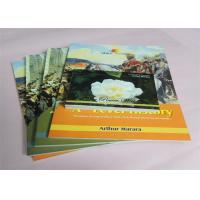 Quality Commercial Offset Printed Softcover Book Full Color / One Color Case Bound wholesale