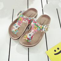Quality Comfortable Kids Sandals Flip Flops Anti Slip Sole Sandals With Adjustable Straps wholesale