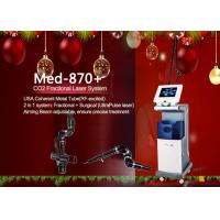 Quality Co2 Fractional Laser Machine USA Coherent Metal Tube With Three Model Power Supply 40 W wholesale