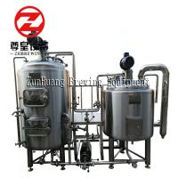 China Beer Fermenting Complete Home Brewing System , 200L Home Microbrewery System on sale