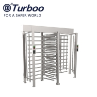 Quality SUS304 Stainless Steel Full Body Turnstile With Interlocking Function wholesale