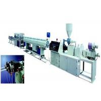 Quality PE Twin Pipe Extrusion Machinery / Production Line stable running wholesale
