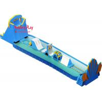 Quality Commercial Toddle Inflatable Water Slide With Splash Pool 1000*400*800cm wholesale