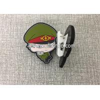 Quality Custom paper clips file clips with handsome cool soldier fireman police shape design cute dog shape for kids children wholesale