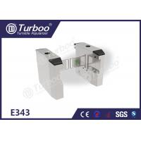 Quality Mechanical Stainless Steel Turnstiles / Retractable Flap Barrier For Stadium Access Control wholesale