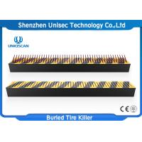 Quality Traffic Control Anti Terrorist Tyre Spike Barrier , Police /  Jail / Checkpoint Spiked Road Barrier wholesale