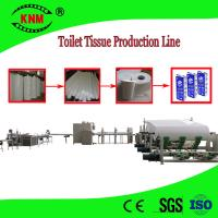 Quality Toilet paper production line machine to make toilet paper from jumbo roll wholesale