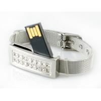 Quality Jewelry Bracelet USB Flash Drive Memory Stick Storage Device With CE ROHS FCC wholesale