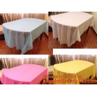 Quality Colorful Plastic Tablecloth Wedding Decoration Supplies Party Table Cover 10 colors to choose, Waterproof Table Cover Pa wholesale