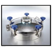 Quality Stainless Steel Manhole Cover For Tank With Competitive Price wholesale