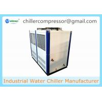 Quality CE Europe Industrial 20HP Air Cooled Water Chiller for Grinding Machine Cooling wholesale