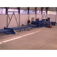 Quality 37kw scrape edge slitting and Taper Cutting Machine , cut to length line for light pole wholesale