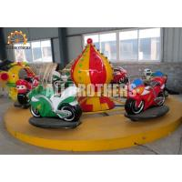 Quality Funfair Game Children'S Amusement Park Rides Electric Motor Racing Car Ride wholesale