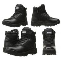 China High quality side-zip military comfortable combat duty boots swat tactical boots for men on sale