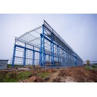 Quality Portal Frame Prefabricated Steel Structure Warehouse Fabrication Engineer Design wholesale