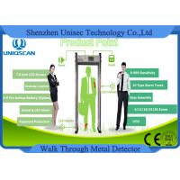 Quality Body Scanner Lightweight Walk Through Metal Detector Archway With 7.0 Inch Screen wholesale