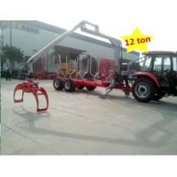 Quality atv timber trailer/Forestry log trailers with grapple with capacity 12 ton, 10 ton, etc wholesale