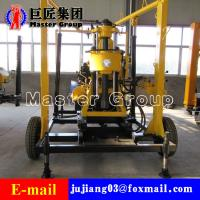 Quality XYX-130 Wheel Type Hydraulic water well drilling machine rotary drilling rig /small bore well drilling machine wholesale