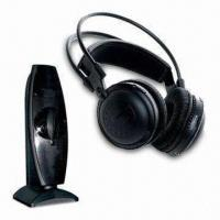 Quality Wireless Headphones, 914, 914.5, 915 MHz Carrier Frequency, 12V DC, 150mA Power Supply Transmitter wholesale