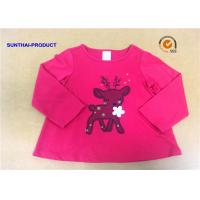 Quality Customized Children T Shirt 100% Cotton Long Sleeve Baby Girl Tee Shirts wholesale