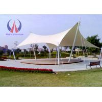 Quality Strong Flexible Tensile Shade Structures Shade Sail Carport Saddle - Shaped wholesale