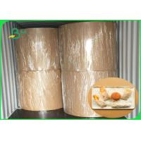 Quality Food Grade Thickness 30gsm - 100gsm MG Kraft White For Fast Food Packing wholesale