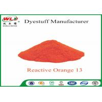 Quality Textile Synthetic Fiber Reactive Dye C I Reactive Orange 13 100% Purity wholesale