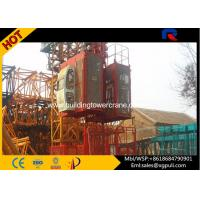 Quality Portable Construction Hoist Elevator Two Cage Mast Section 650*650*1508mm wholesale