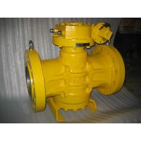 Quality CL600 CS A216 WCB SS A351 CF8M/SS316 Flanged Tapered Lubricated Pressure Balanced Inverted Plug Valve wholesale