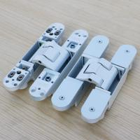 Quality white concealed hinges 180 degree adjustable hinge wholesale