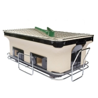China Table Yakitori Ceramic Charcoal Barbecue Grill on sale