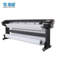 China Textile / Fabric Digital Plotter Printer With Double HP45 Ink Cartridges on sale