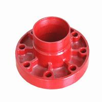 China 3 Inch Ductile Iron Flange Adaptor on sale