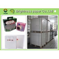 China C1S  ivory card Printing Paper , FBB White Back cardboard paper sheet/roll on sale