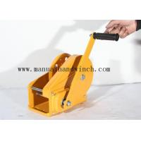 China 1800lbs Test Load Squagging / Automatic Manual Winch With Brake For Terminals / Construction on sale