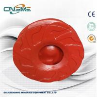 Quality Red Centrifugal Pump Parts War - Man Pump Red Impeller In Closed Type With 6 Vanes wholesale