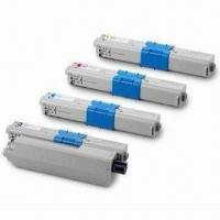 China Compatible Toner Cartridges for OKI C310, C330, C510 and C530, with One Year Warranty on sale