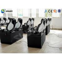 Quality Pneumatic Mobile 5D Cinema With Snow / Bubble / Rain / Wind Effect 2 Years Warranty wholesale