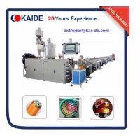 China Micro Duct PE Silicone Core Pipe Production Line /High speed telecom pipe extruder/automatic telecom pipe extruder on sale