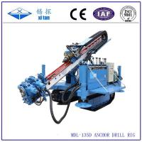 Quality MDL-135D Great torque crawler drilling rig for anchoring or jet-grouting wholesale