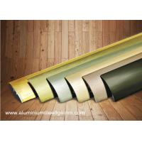 Quality Multi Use Curved Surface Aluminium Floor Trims With Brushed Effect For Hotel Project wholesale