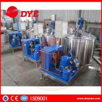 Quality DYE Quality Small Farm Cow Milk Cooler Tank 380v / 220v / 425v wholesale
