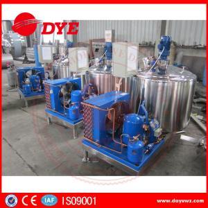 Quality DYE Quality Small Farm Cow Milk Cooler Tank 380v / 220v / 425v wholesale