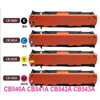 Quality Compatible Toner Cartridges(CB540A series) for HP Color Laserjet CP1215/CP1515N/CP1518NI wholesale